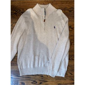 Quarter zip Polo Ralph Lauren sweater